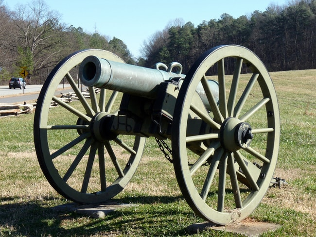 Cannon At Kennesaw Battlefield Park