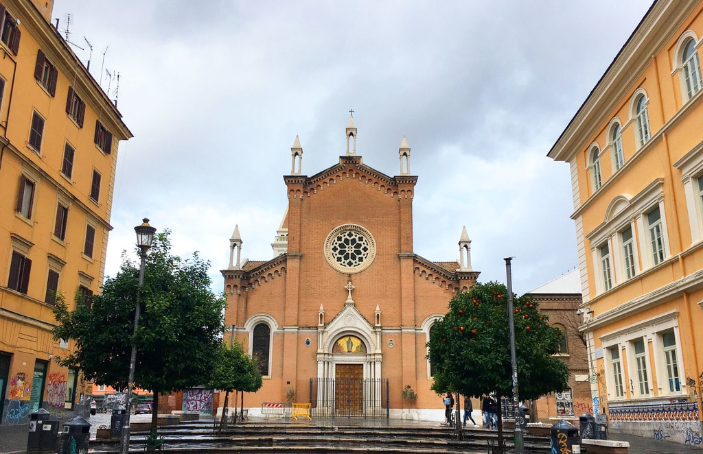 Piazza dell'Immacolata by day | © Emma Law