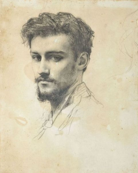 """Raphaël Collin, 'Portrait of Paul Victor Grandhomme', c. 1890 