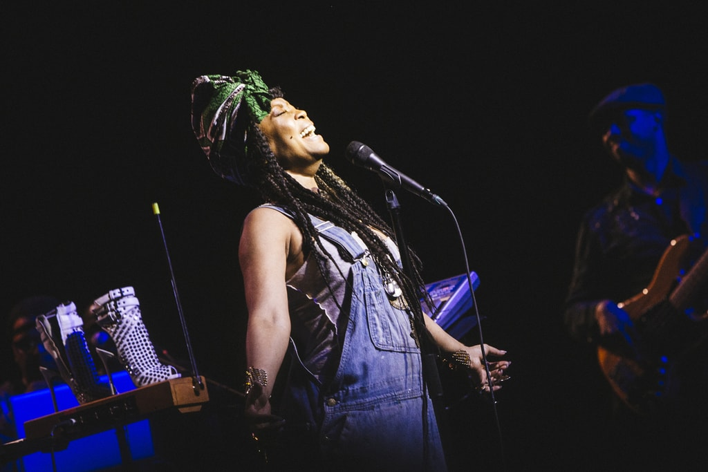 Erykah Badu at the Bomb Factory │© Karlos X. Ramos/Courtesy of VisitDallas