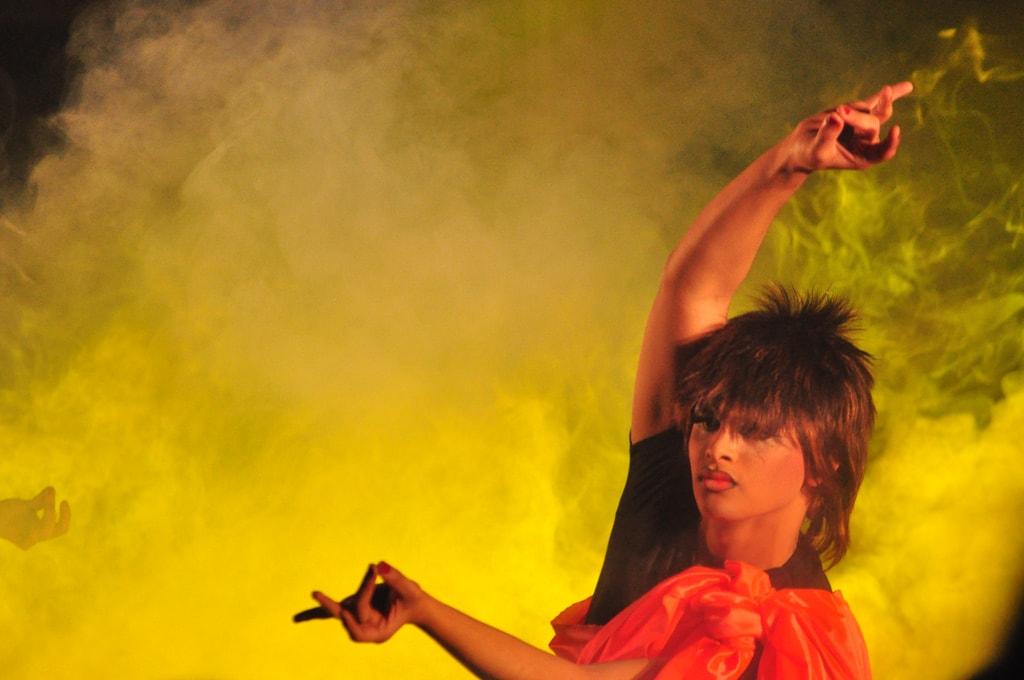 Dancing drag queen