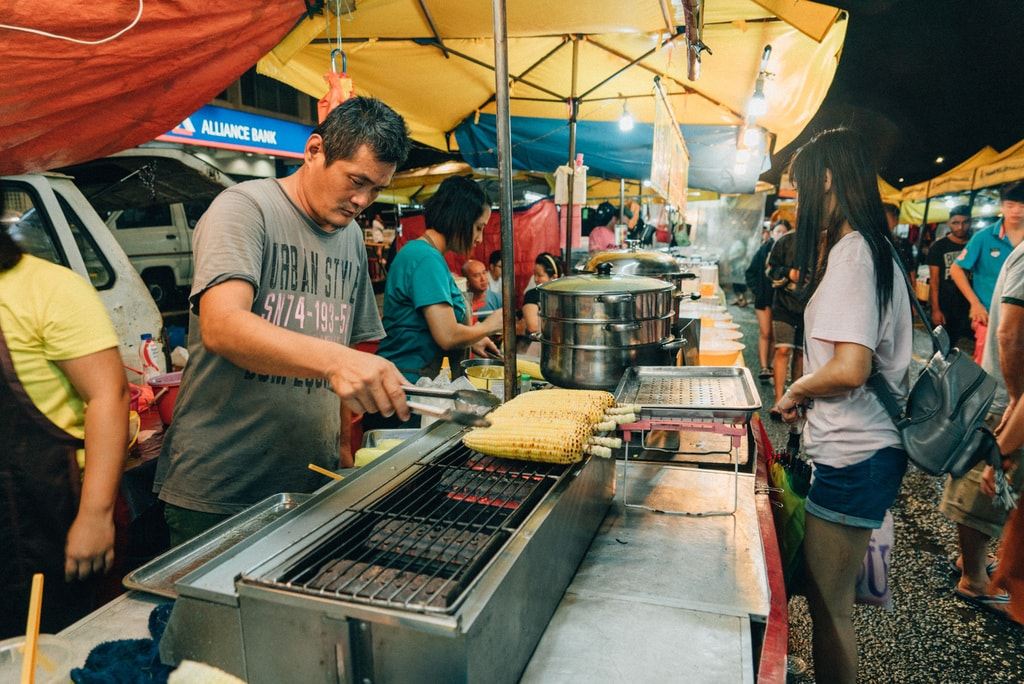 Barbequed corn on cob is also a popular favourite among locals | Irene Navarro / © Culture Trip