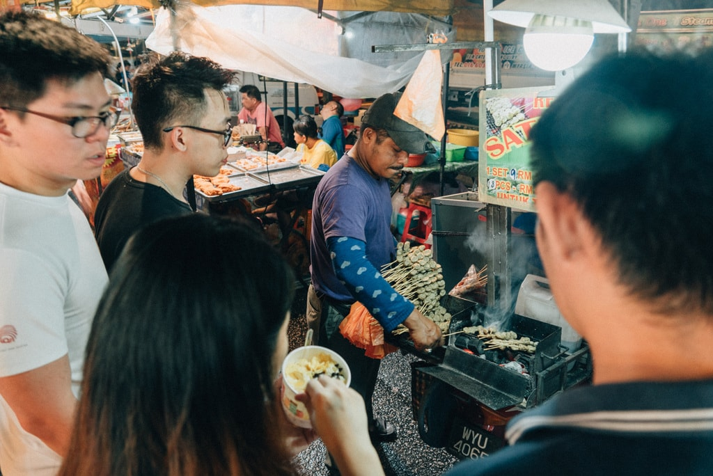 Malaysian satay is also a must try while visiting the night market | Irene Navarro / © Culture Trip