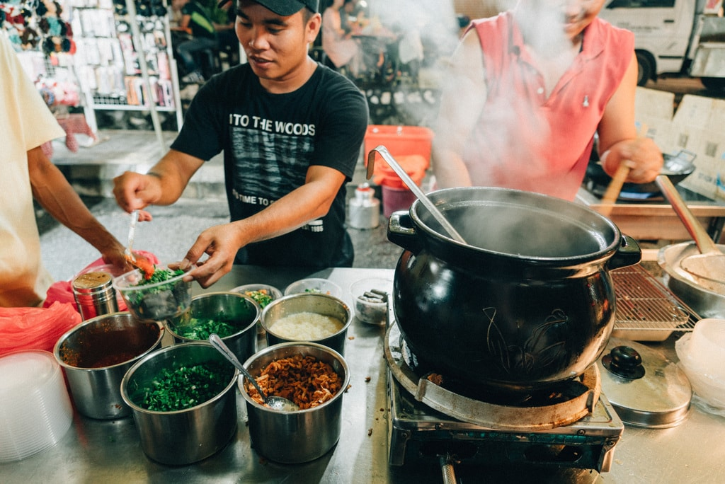 Rice porridge is also available for those who want a much more healthier option | Irene Navarro / © Culture Trip