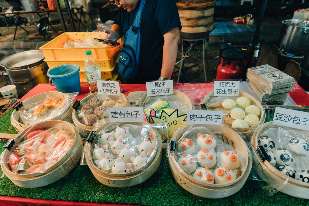 Various decorations on the steamed buns or also known as 'Pao' | Irene Navarro / © Culture Trip