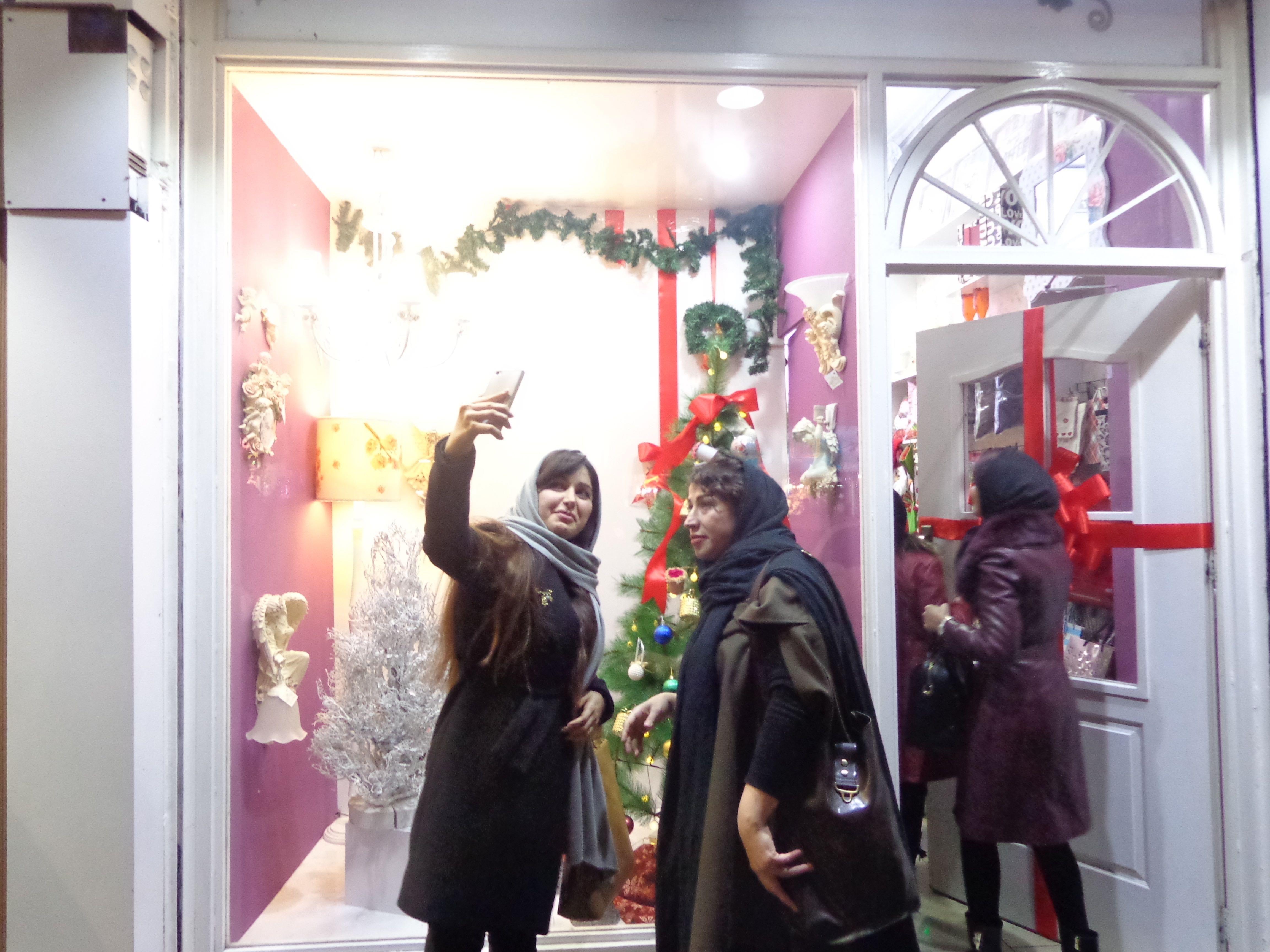 Tehran during Christmas | © Pontia Fallahi