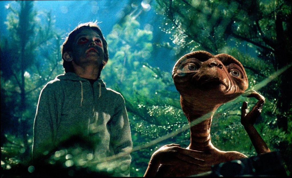 E.T. The Extra-Terrestrial   Courtesy of Universal Studios