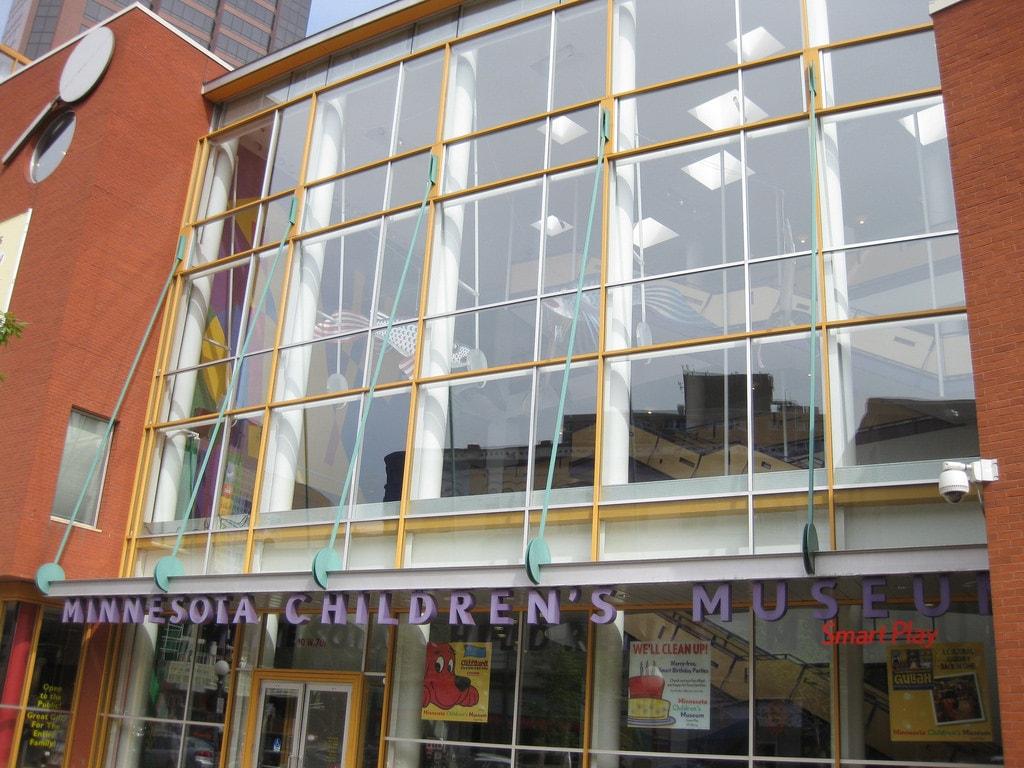 Exterior of the Minnesota Children's Museum Richie Diesterheft Flickr