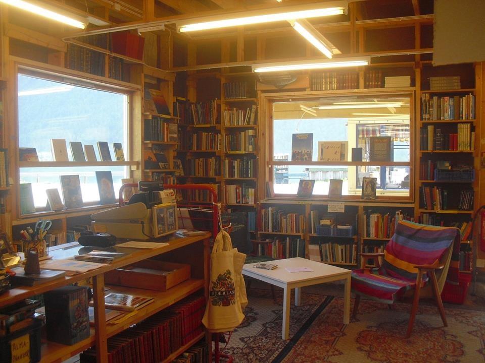 Fjærdal also has indoor bookstores | Courtesy of Den norske bokbyen