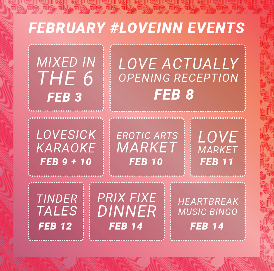 #LOVEINN2018 | Courtesy of Gladstone Hotel