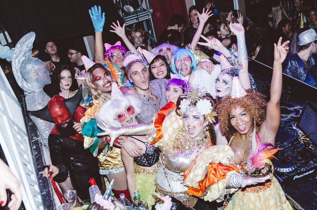 Glitterati Party at House of Yes | © Kenny Rodriguez