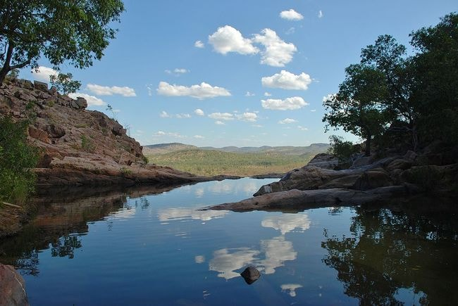 Gunlom Falls, Northern Territory   © Iambexta/Wikimedia Commons