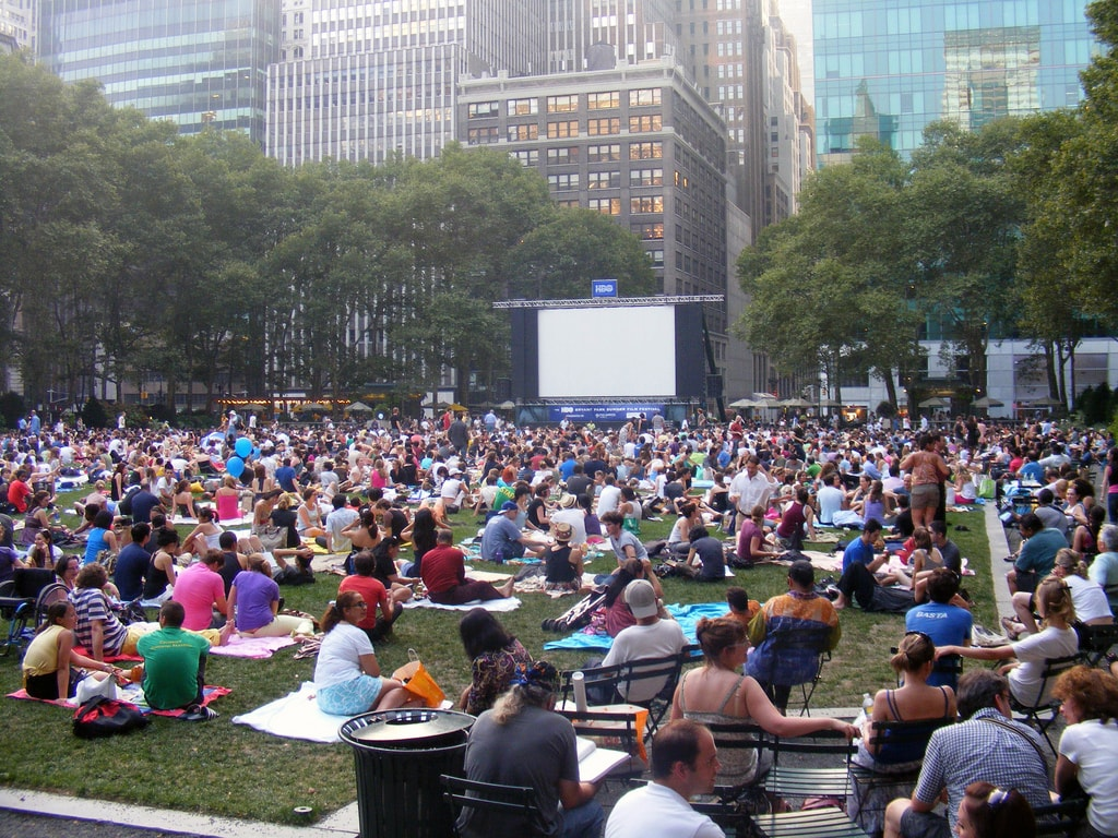HBO Bryant Park Summer Film Festival | André Natta Flickr