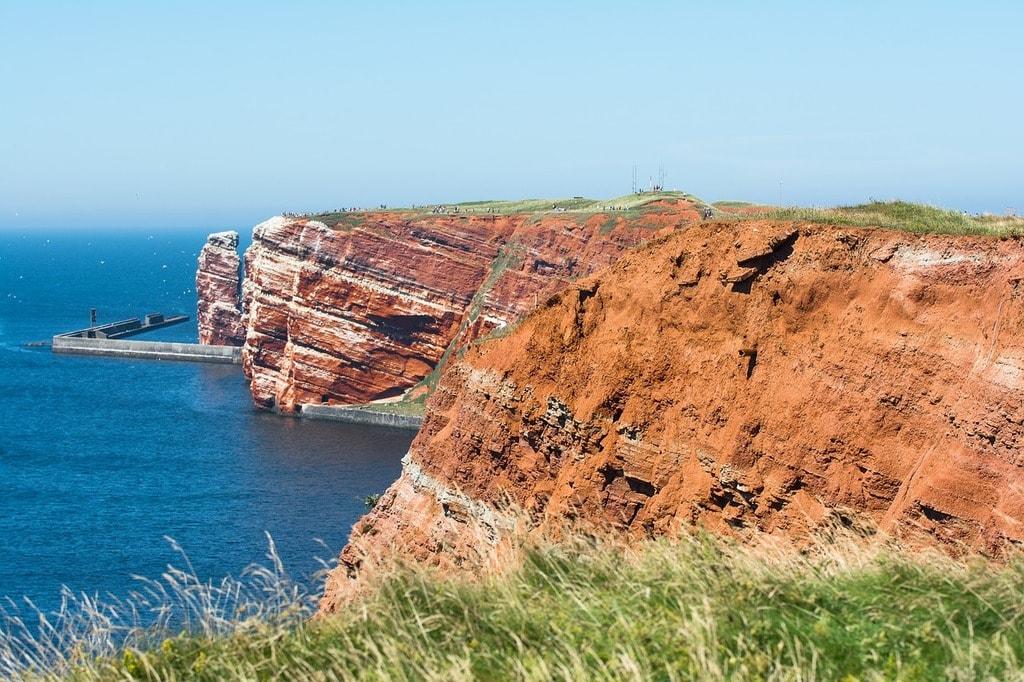 Heligoland cliffs