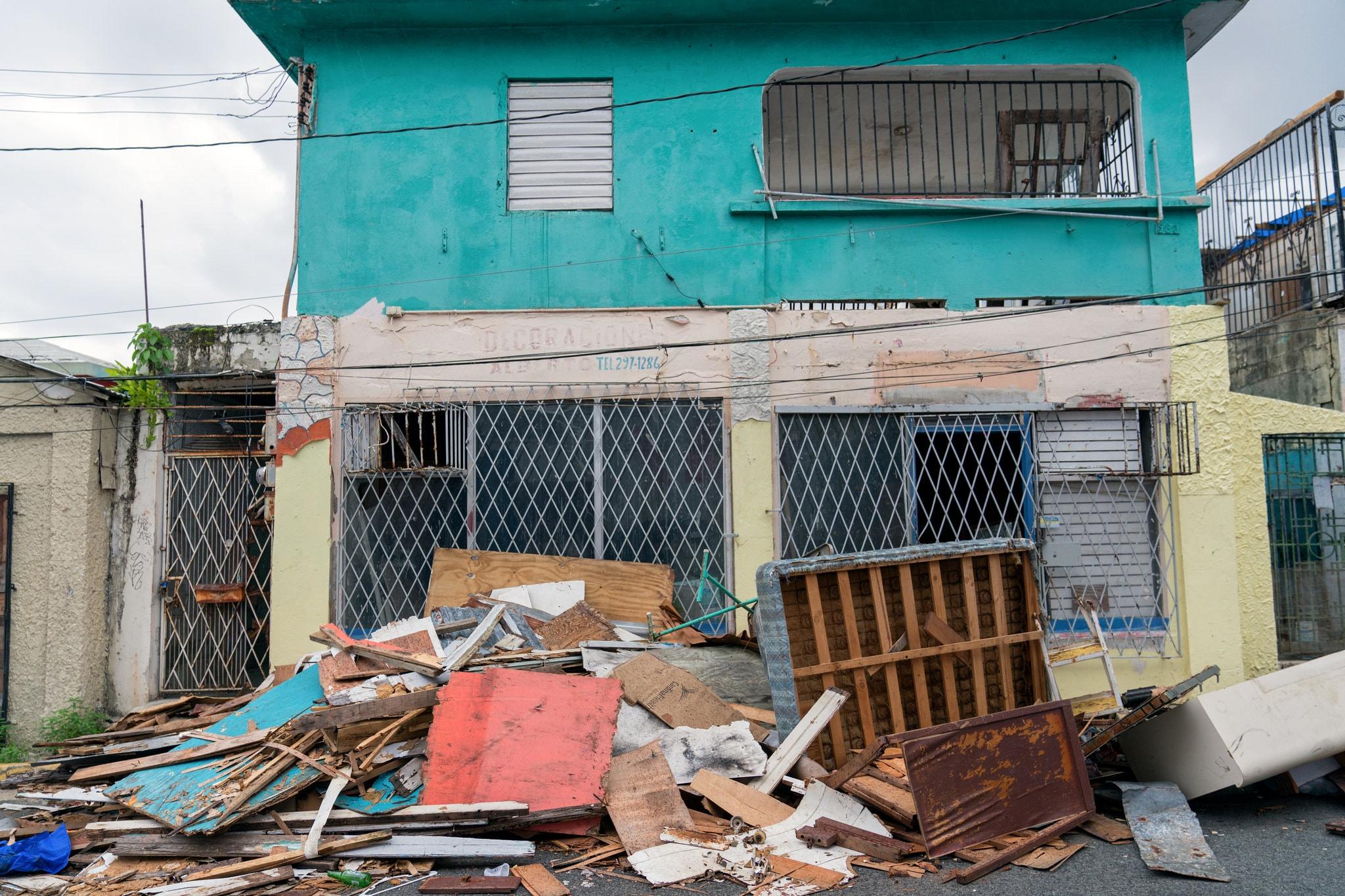 hurricane in puerto rico