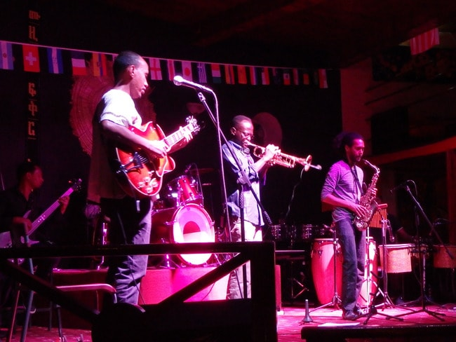 Jazz at the Ghion Hotel
