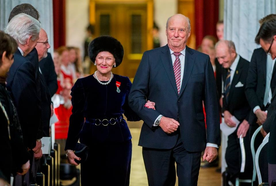 King Harald and Queen Sonja | © Vegard Wivestad Grøtt : NTB scanpix, Courtesy of NRK