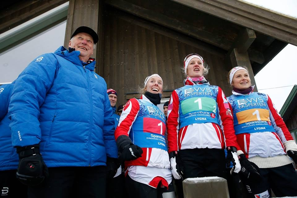King Harald never misses a ski event | © Terje Bendiksby : NTB SCANPIX, Courtesy of Kongehuset