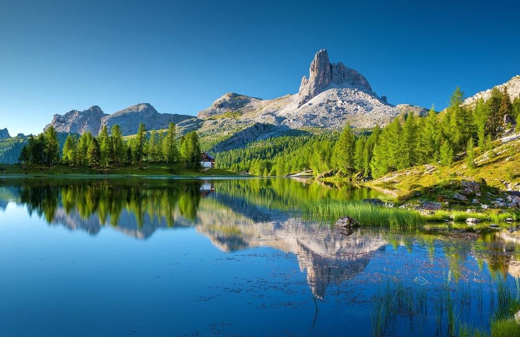Lago Federa near Cortina d'Ampezzo | © Julius_Silver/Pixabay