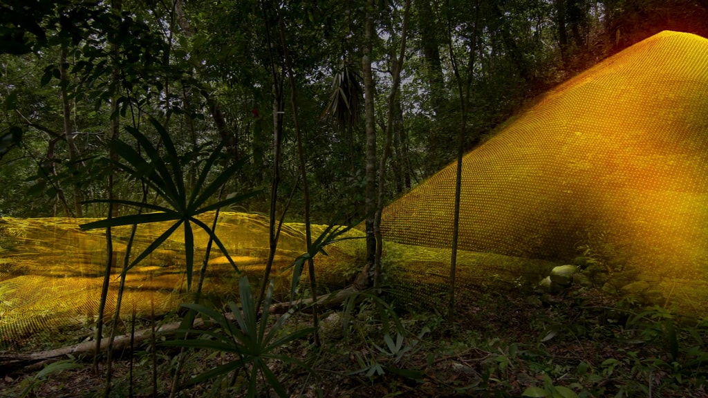 LiDAR technology uncovered a pyramid in the Petén jungle | © Wild Blue Media