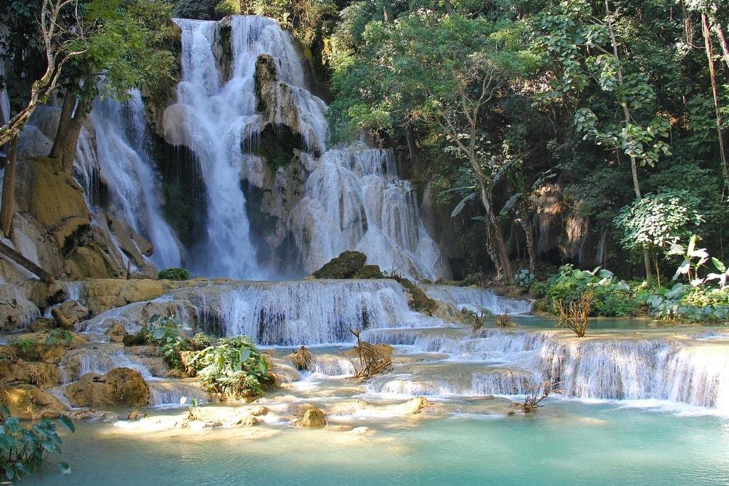 Luang Prabang waterfall | © sharonang/pixabay
