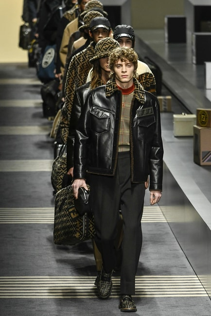 Fendi runway, Milan Fashion Week (Men's Autumn/Winter 2018) | Rexfeatures/Riccardo Giordano