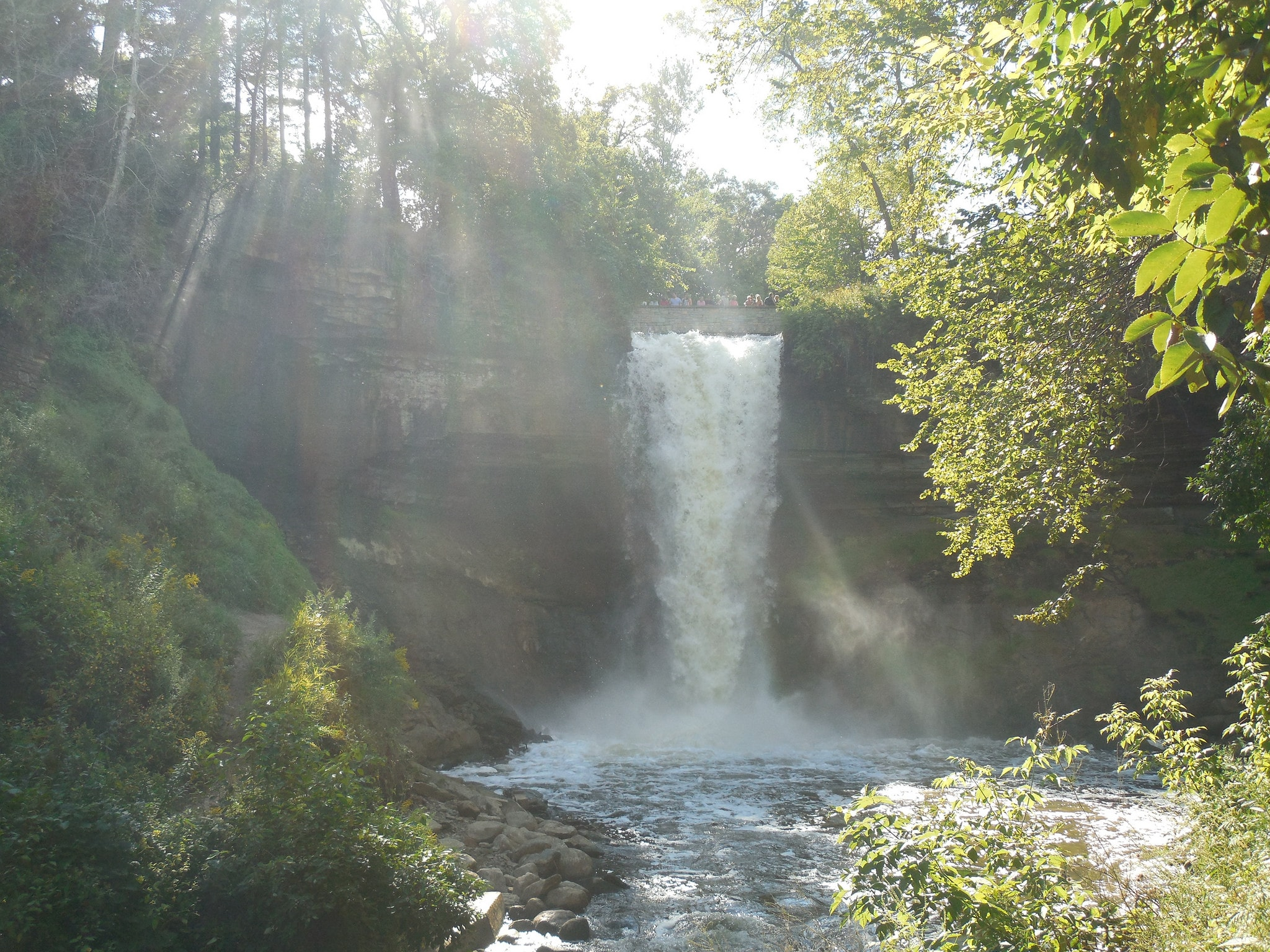 Minnehaha Falls in Minneapolis Doug Kerr