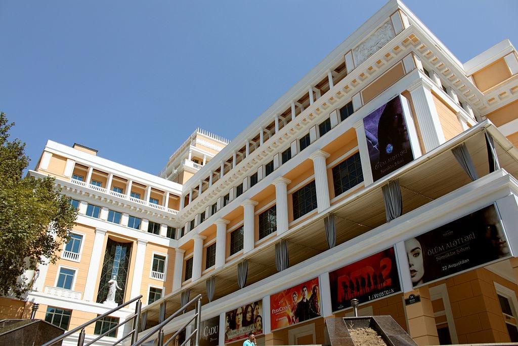 Nizami Cinema building | © Urek Meniashvili/WikiCommons