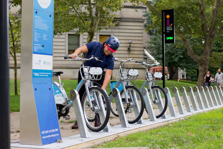 HealthyRide   Courtesy Pittsburgh Bike Share