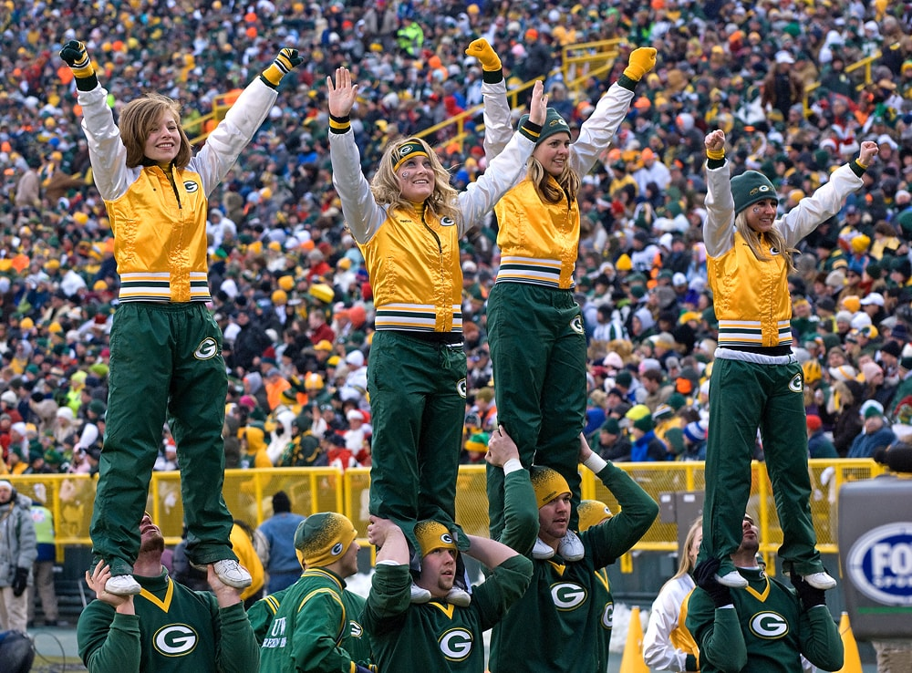 Packer Cheerleaders