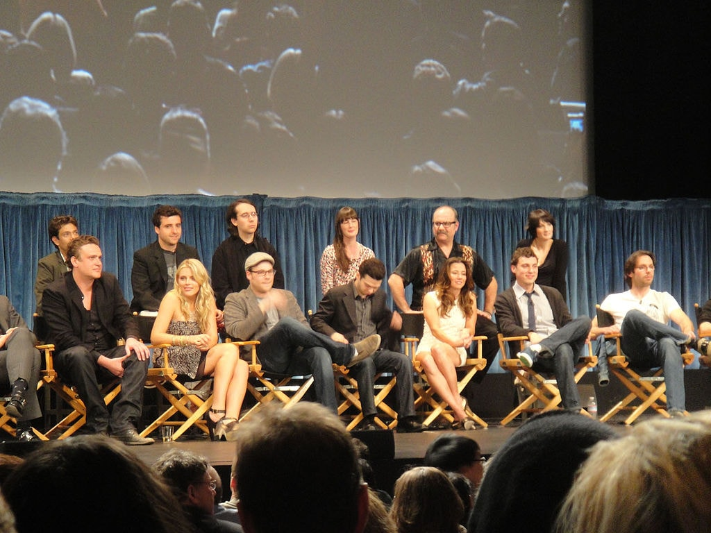 PaleyFest_2011_-_Freaks_and_Geeks_Reunion_-_the_cast_(5525055280)