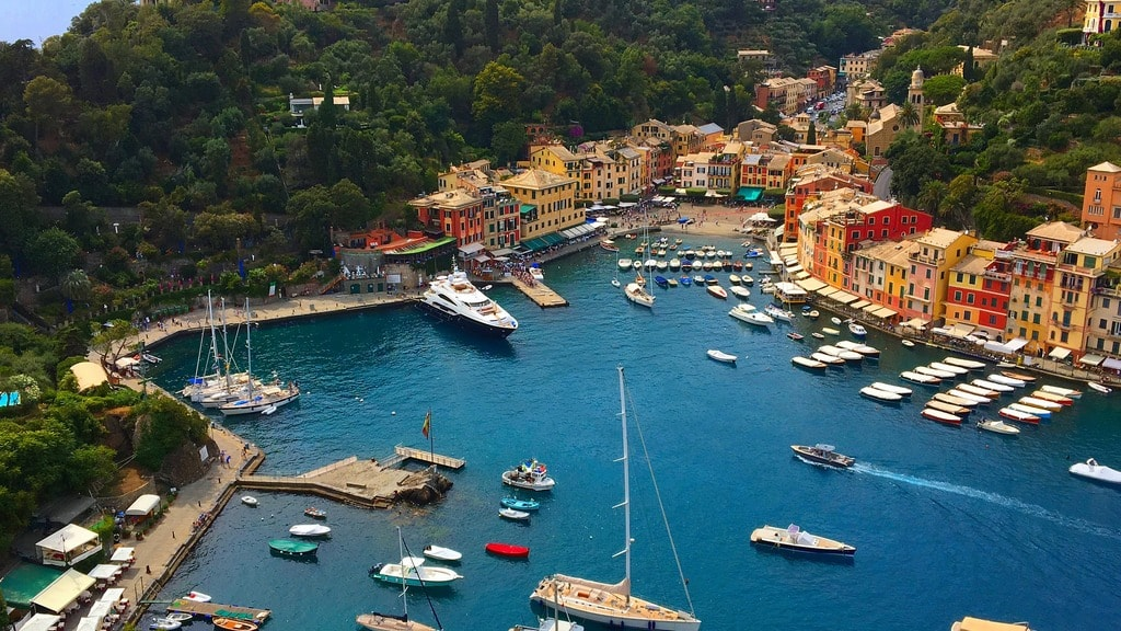 Portofino is one of Italy's most exclusive spots for a beach holiday | © Corinespics/Pixabay
