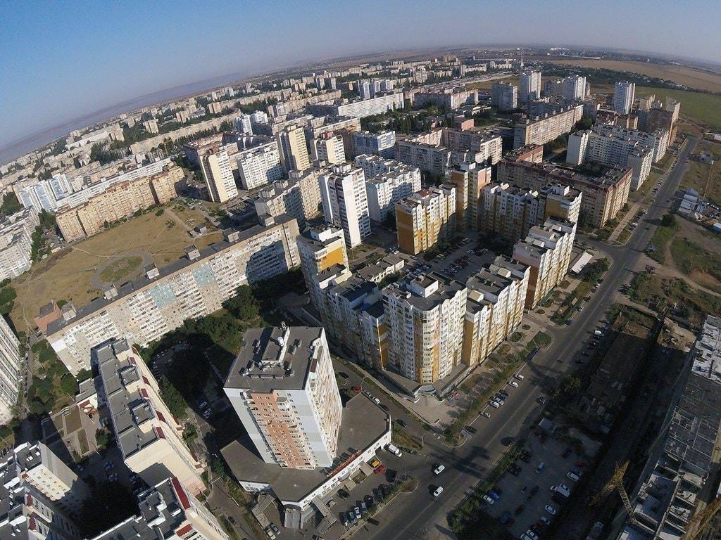 Aerial image of Kotovskogo Settlement