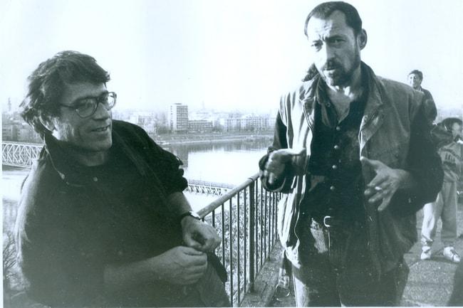 Ranko_Munitic_(1943-2009),_right,_with_Zelimir_Zilnik