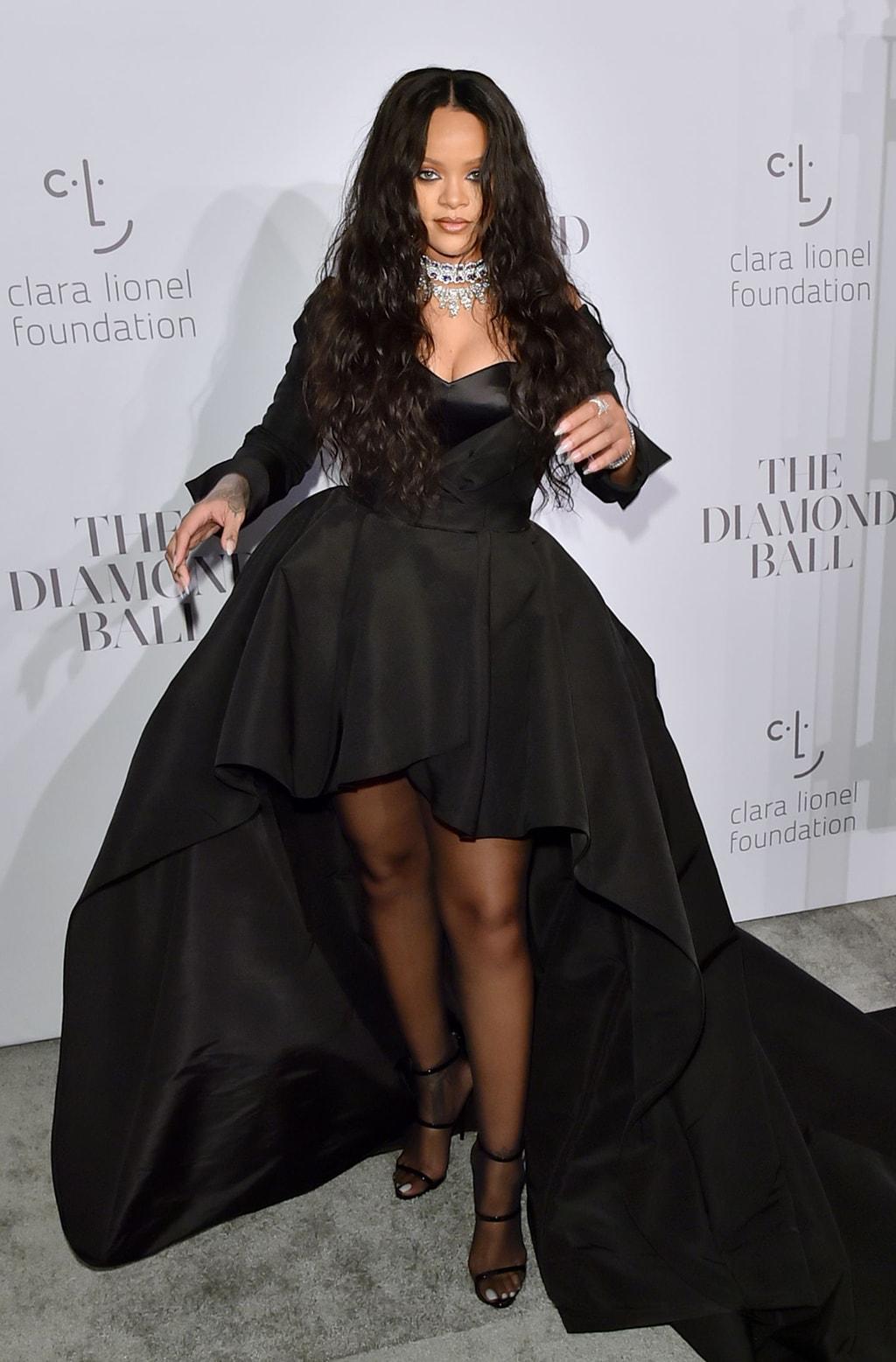 Rihanna's 3rd Annual Clara Lionel Foundation Diamond Ball, Arrivals, Cipriani Wall Street, New York, USA - 14 Sep 2017