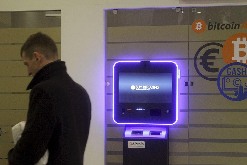 A Bitcoin ATM machine in Vilnius, Lithuania  ©Valda Kalnina/EPA-EFE/REX/Shutterstock