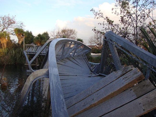 River Bridge Post-Earthquake