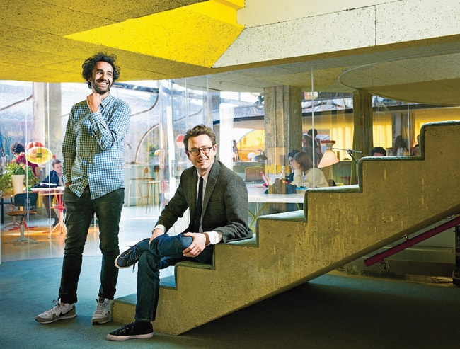 Second Home's co-founders Rohan Silva andSam Aldenton | © Iwan Baan