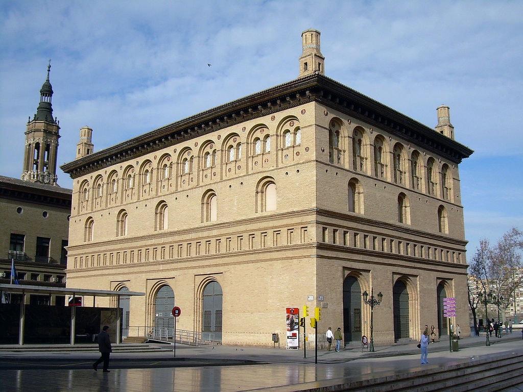 Sala de Exposiciones La Lonja, Zaragoza