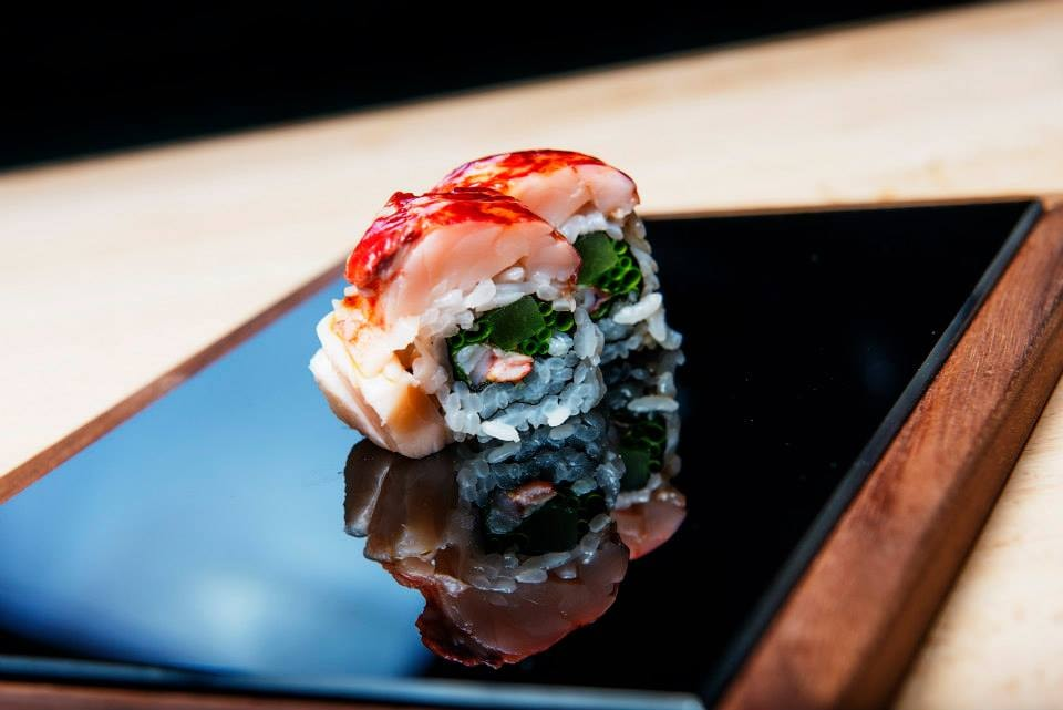 Salmon sushi in one of Norway's best restaurants | Courtesy of Sabi Omakase