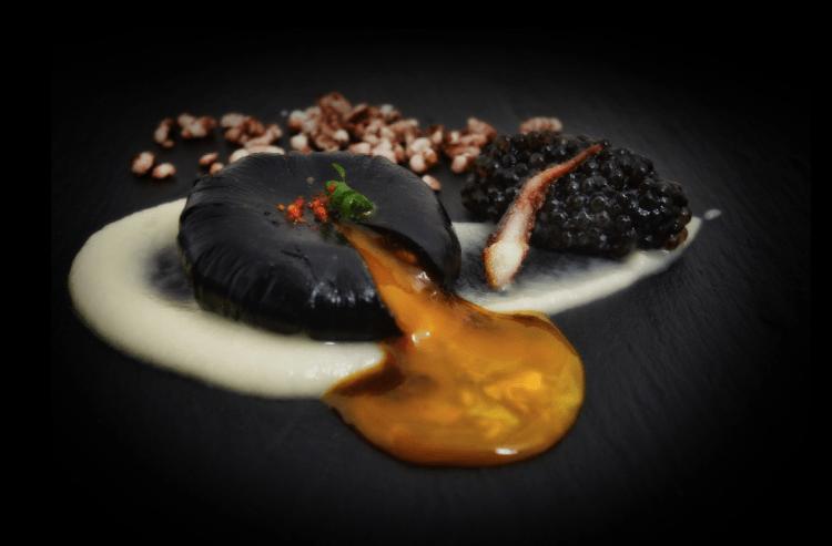 Huevo Negro | Courtesy of Zaranda Restaurant