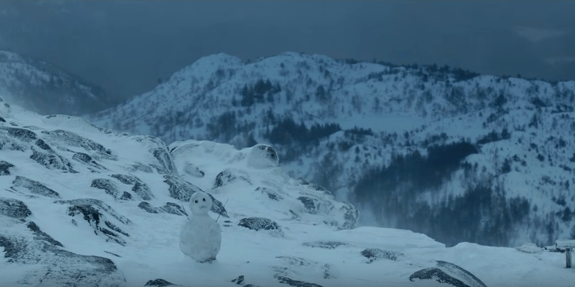 Still from The Snowman   Courtesy of Universal Pictures