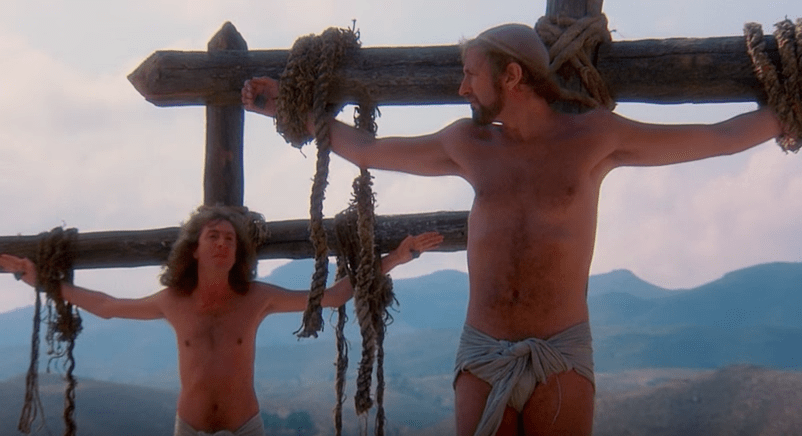 Still from Life of Brian   Courtesy of the Official Monty Python Channel