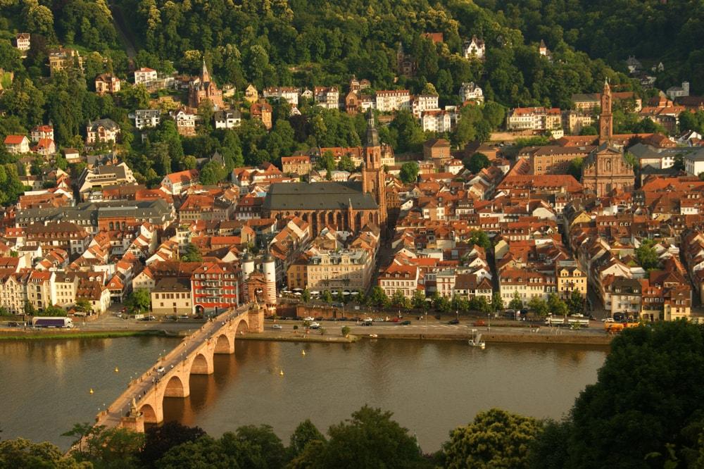Panorama of Heidelberg, Germany   © Lazebnaya Julia/Shutterstock