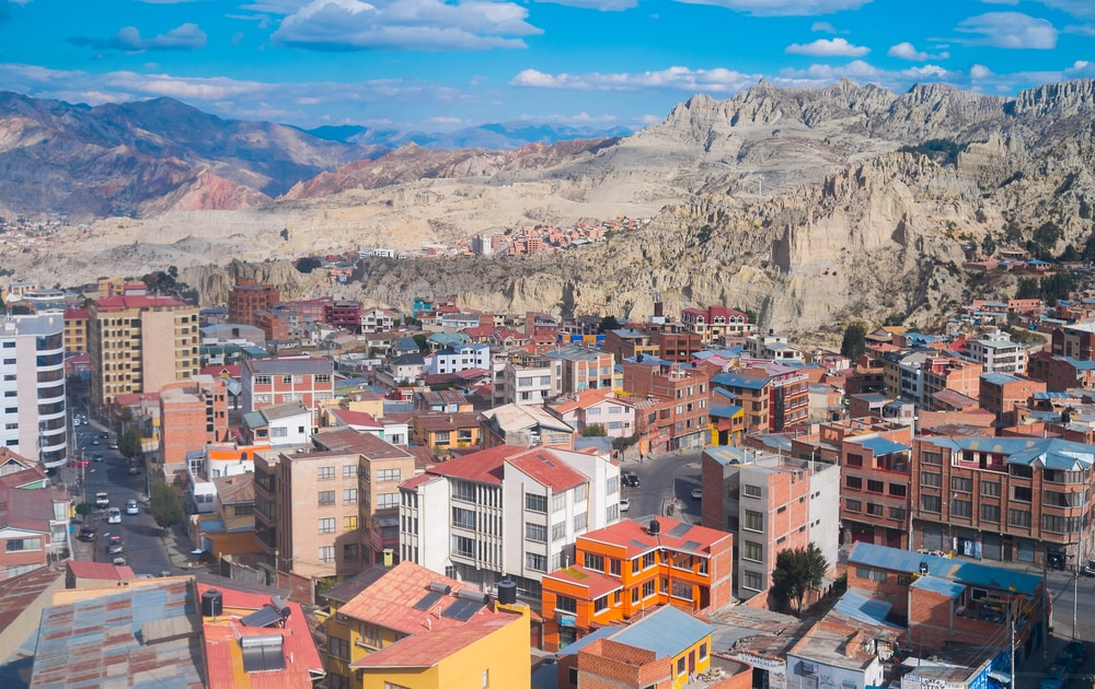 Sopocachi district in La Paz downtown, Bolivia | © Elisa Locci/Shutterstock
