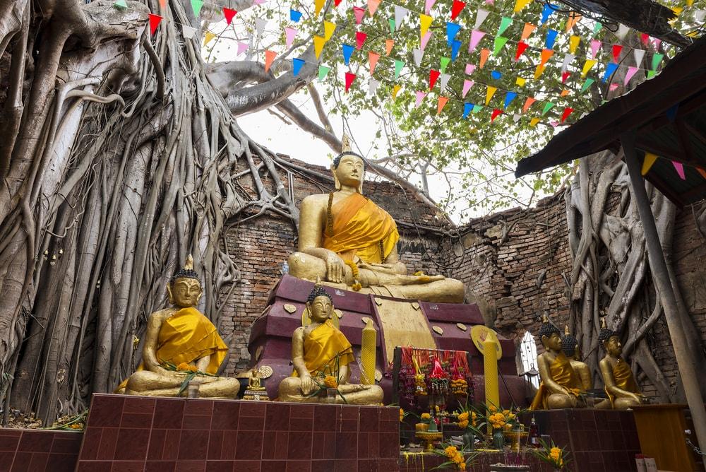 Wat Sai, Singburi, Thailand