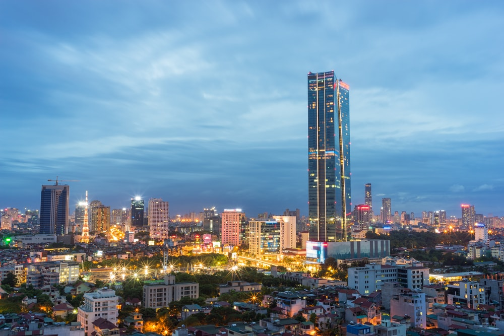 Lotte Tower in Hanoi | © Vietnam Stock Images/Shutterstock