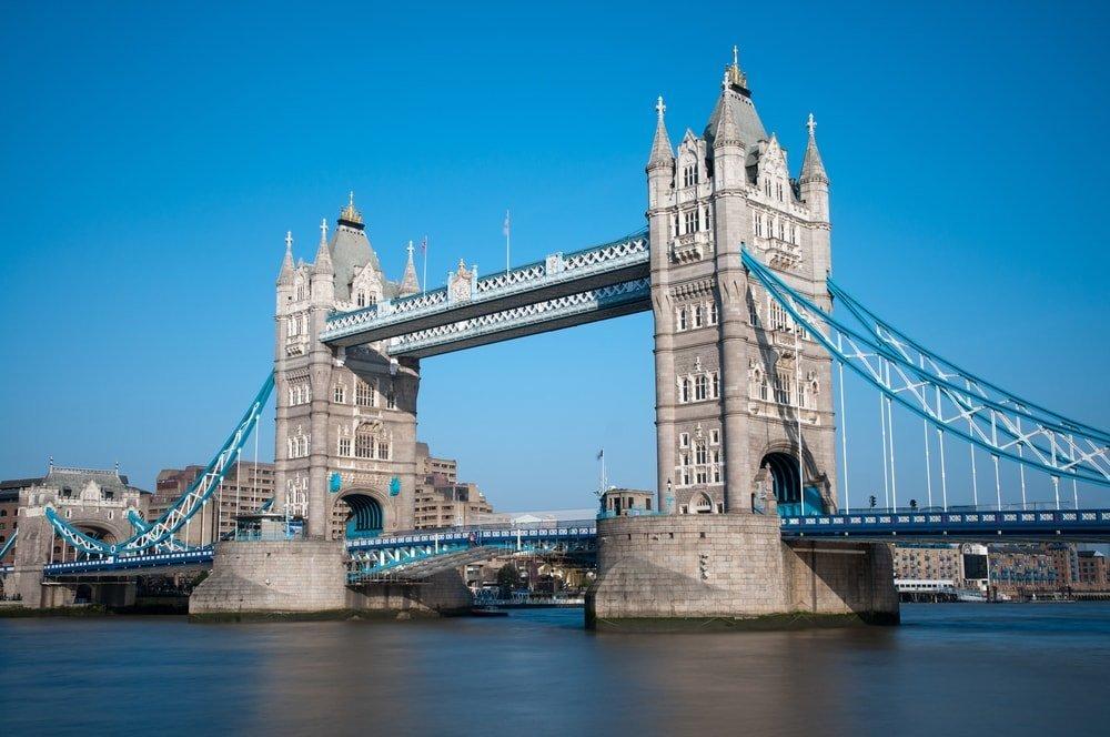 Tower Bridge in London, UK   © stocker1970/Shutterstock