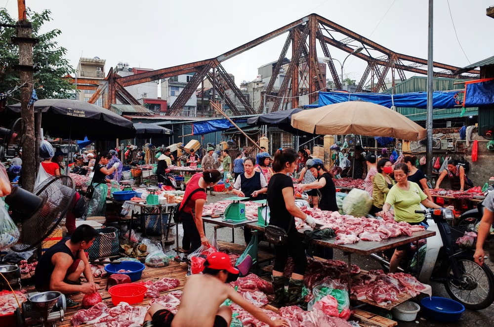 Long Bien Market | © Julie Mayfeng/Shutterstock