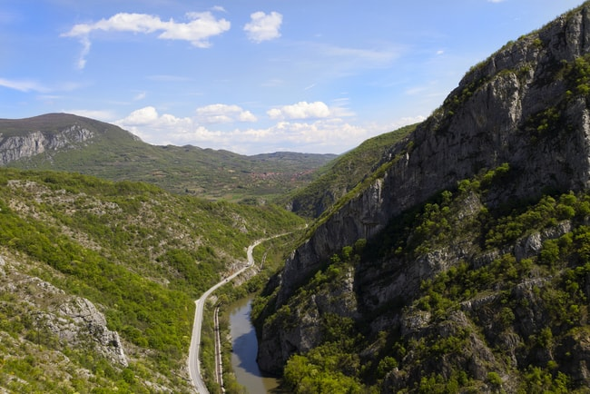 Sićevo Gorge | © Mirkoni/shutterstock
